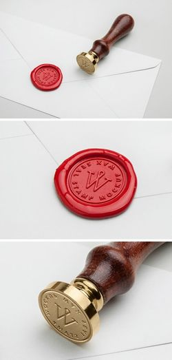 Free Wax Seal Stamp PSD MockUp